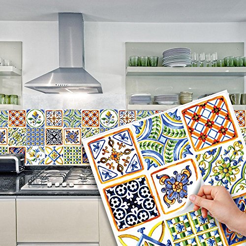 Beautiful sticker per cucina pictures for Rivestimenti adesivi per bagno